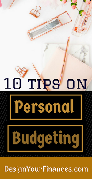 10 Tips on Personal Budgeting
